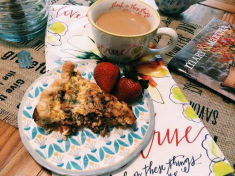 Coffee & Quiche with Mary & Martha