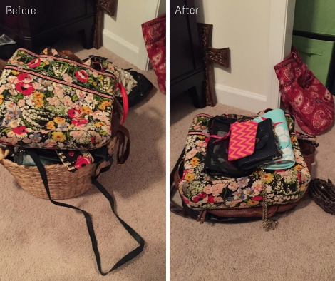 Handbags Before & After